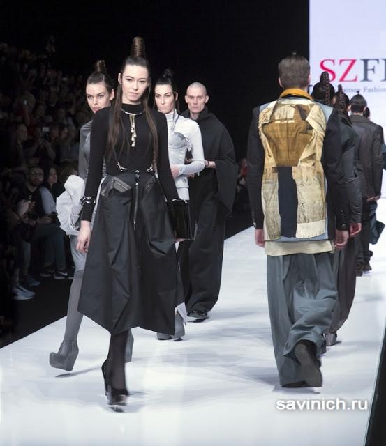 Ника Шабашова на Mercedes-Benz Fashion Week: весна 2016