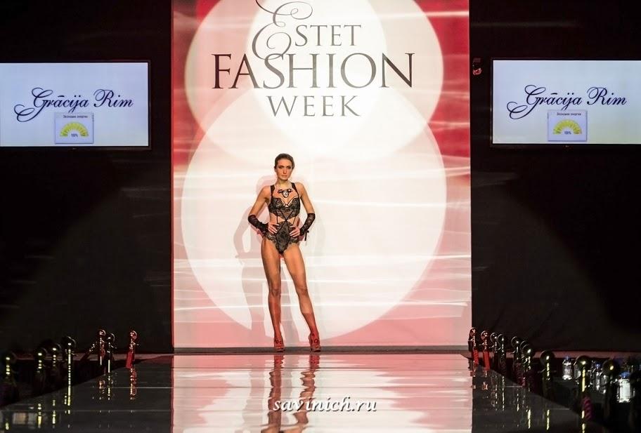 #Gracija-RIM (Латвия) на Estet Fashion Week 16+