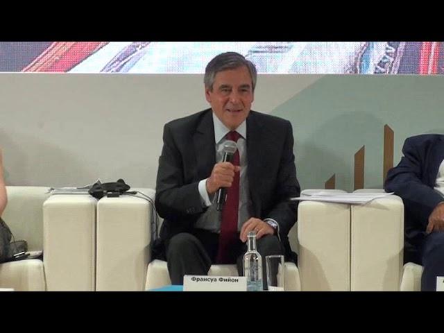 Столыпинский форум.Франсуа Фийон