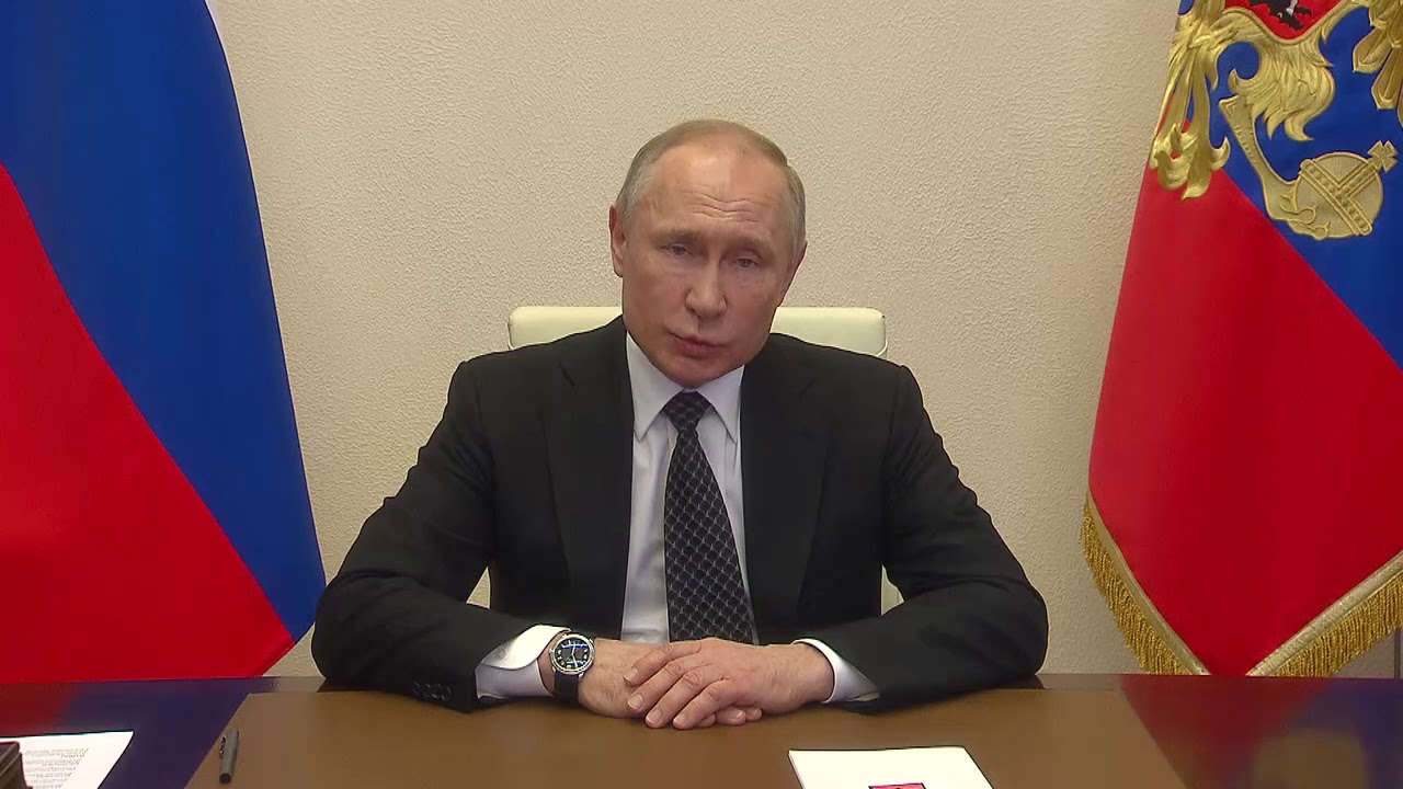 75 лет Победы. Обращение Владимира Путина. 9 мая
