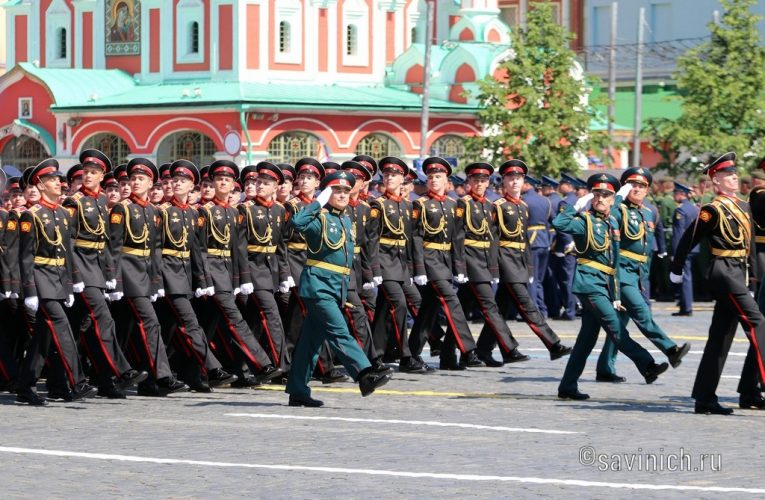 Парад Победы 2020.Москва Московское суворовское военное училище