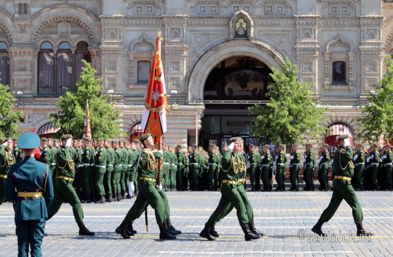 Парад Победы 2020.Михайловская военная артиллерийская академия