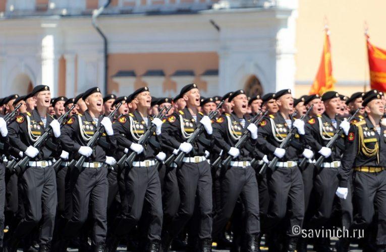 Парад Победы 2020.Москва 336-я отдельная гвардейская бригада морской пехоты