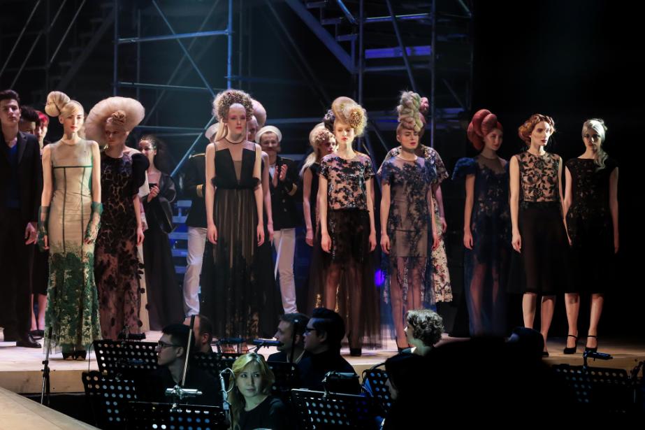 В Москве прошел  долгожданный Шоу-показ коллекции причёсок, стрижек и окрашиваний волос  A'MORE by ESTEL  весна-лето 2016.