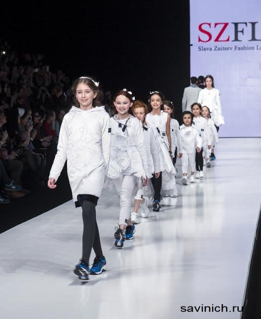 Бирюкова Галина на Mercedes-Benz Fashion Week: весна 2016