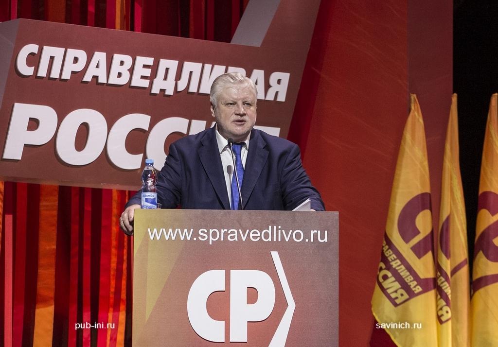 VIII Внеочередной съезд партии Справедливая Россия