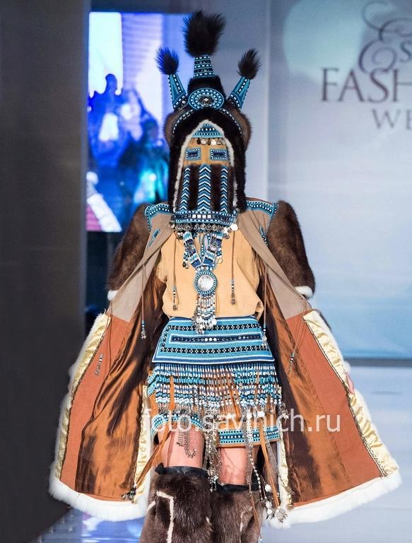 #Августина_Филиппова и ювелирная фирма «#Киэрге» (Якутия) на #Estet Fashion Week: осень 2017