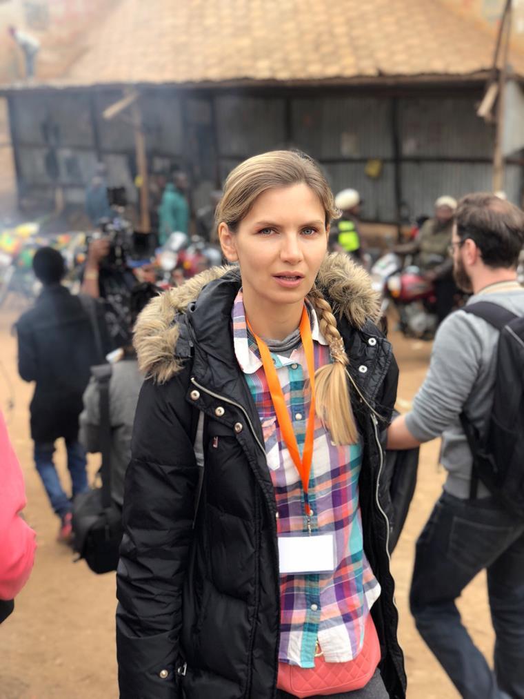 Ольга Леснова и новый фильм Вид свысока (2019)