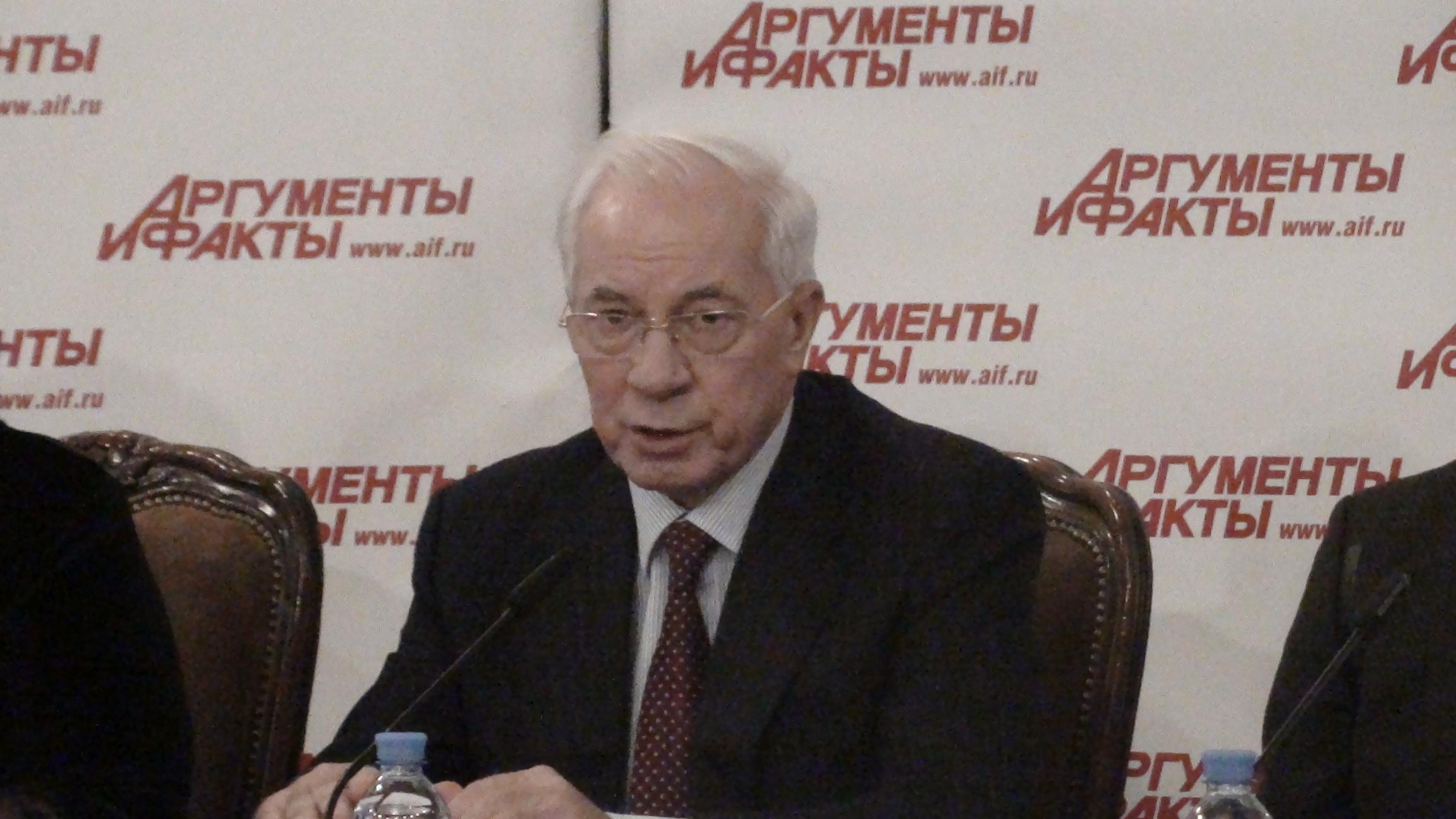 Мы допустили переворот! Мы виноваты! Николай Азаров (видео).