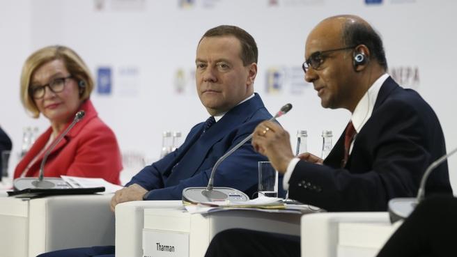 Выступление Дмитрия Медведева на X Гайдаровском форуме(текст+ видео)