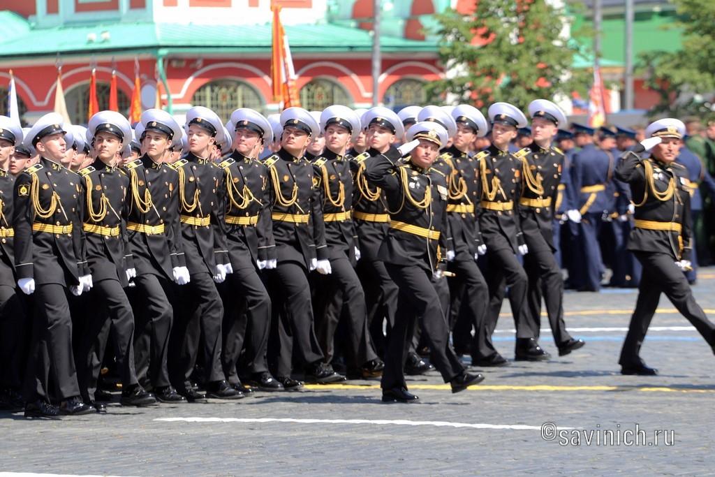 Парад Победы 2020.Москва Нахимовское военно-морское училище